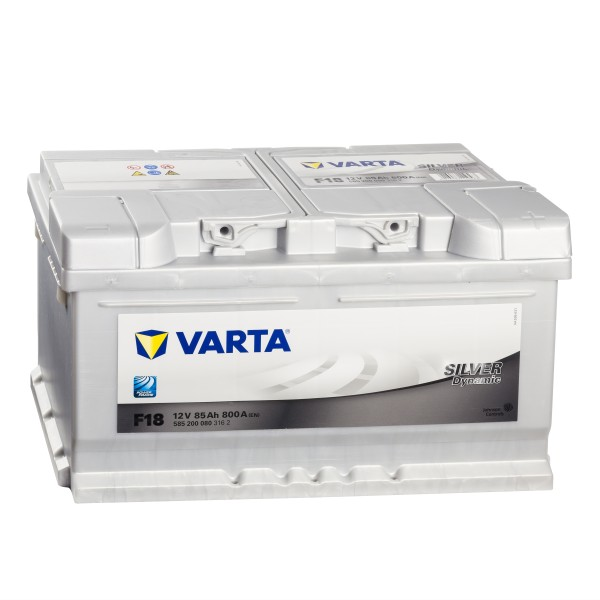 VARTA Silver Dynamic F18 Autobatterie 12V 85Ah