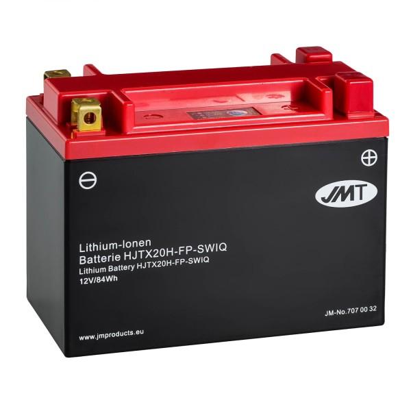 JMT Lithium-Ionen-Motorrad-Batterie HJTX20H-FP 12V