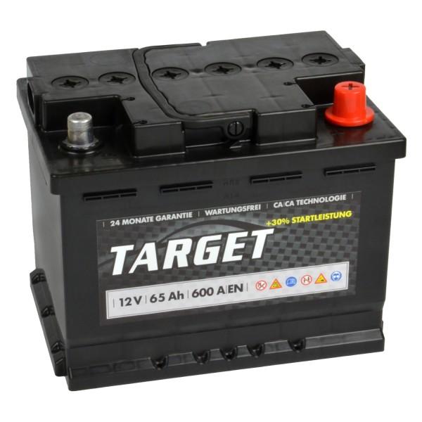 Target Start Autobatterie 12V 65Ah
