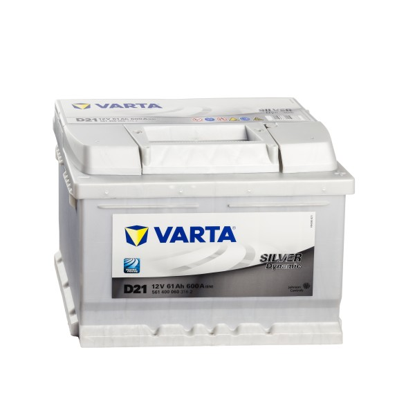 VARTA Silver Dynamic D21 Autobatterie 12V 61Ah