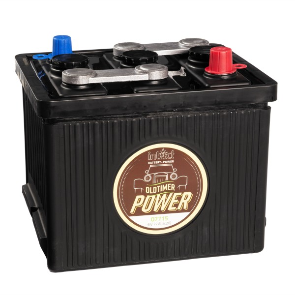 intAct Oldtimer-Power 07715 Autobatterie 6V 77Ah trocken