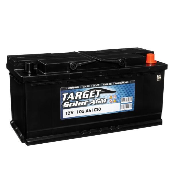 Target Solar AGM 12V 105Ah Versorgerbatterie
