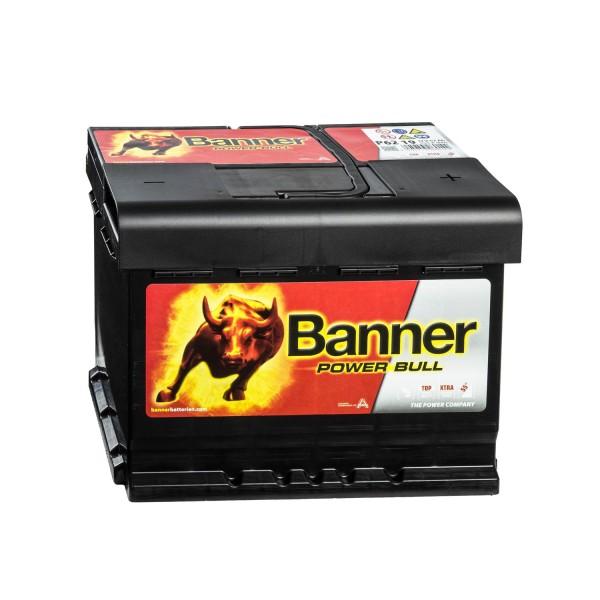 Banner Power Bull P6219 Autobatterie 12V 62Ah