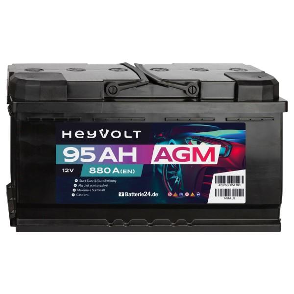 Target AGM Autobatterie 12V 95Ah