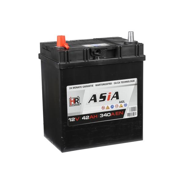 HR HiPower ASIA Autobatterie A42L 12V 42Ah