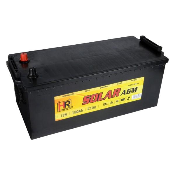 HR Solar AGM 12V 180Ah Versorgungsbatterie