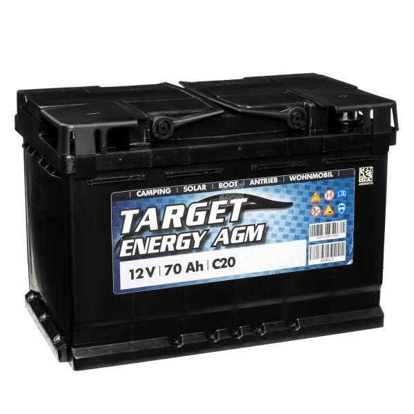 Target Energy AGM Batterie 12V 70Ah