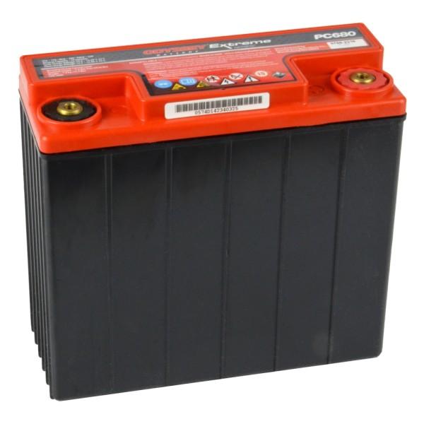 Hawker EnerSys Odyssey Motorradbatterie PC680 12V 16Ah