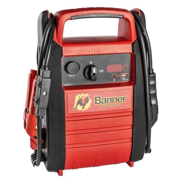 Banner Power Booster PB12 Starthilfegerät Blei Starterbatterien