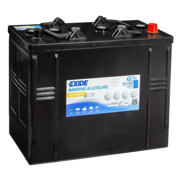 Exide Equipment Gel Batterie ES1300 (Gel G120s) 12V 120Ah