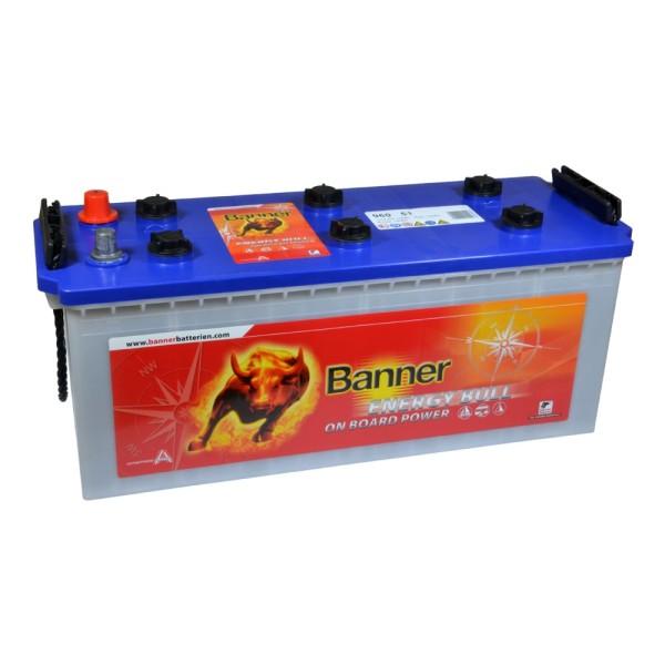 Banner Energy Bull Batterie 12V 130Ah 96051
