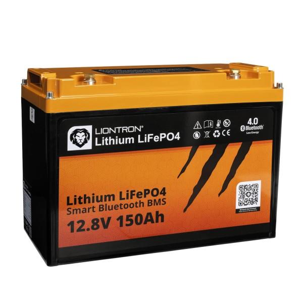 LIONTRON LiFePO4 Smart BMS 12,8V 150Ah Speicherbatterie