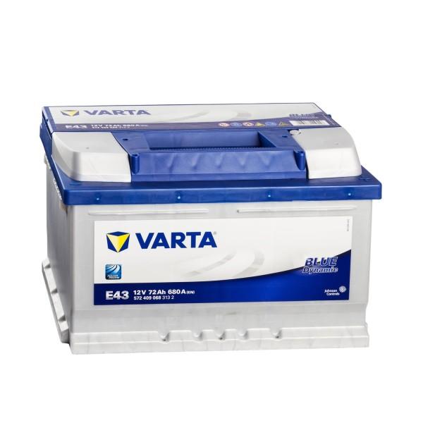 VARTA Blue Dynamic E43 Autobatterie 12V 72Ah