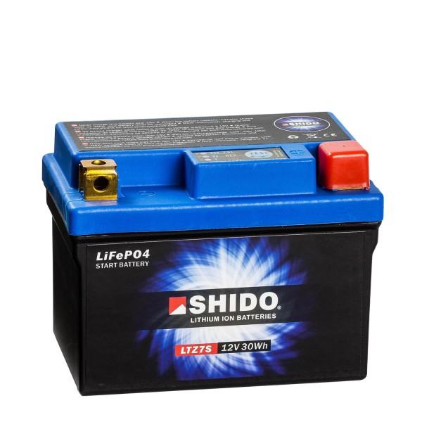 Shido Lithium Motorradbatterie LiFePO4 LTZ7S 12V
