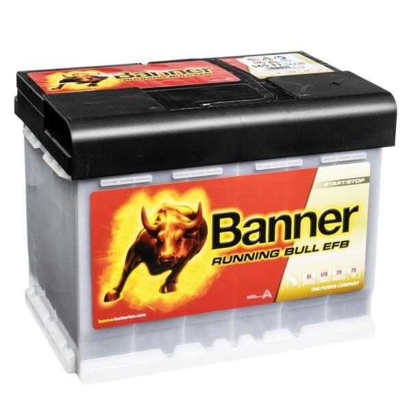 Banner Running Bull Autobatterie EFB 12V 65Ah 56511 (ersetzt Banner 56011)