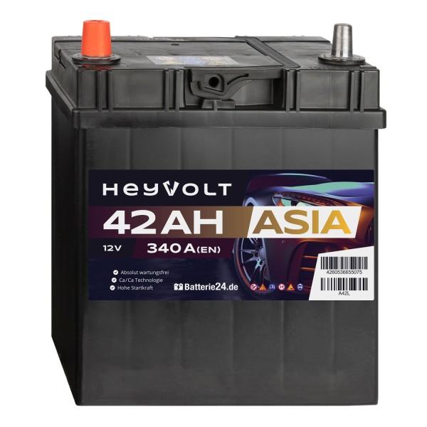 Target ASIA Autobatterie T42L 12V 42Ah