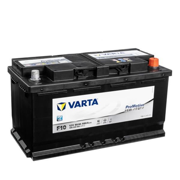 VARTA Promotive Black F10 12V 88Ah LKW-Batterie