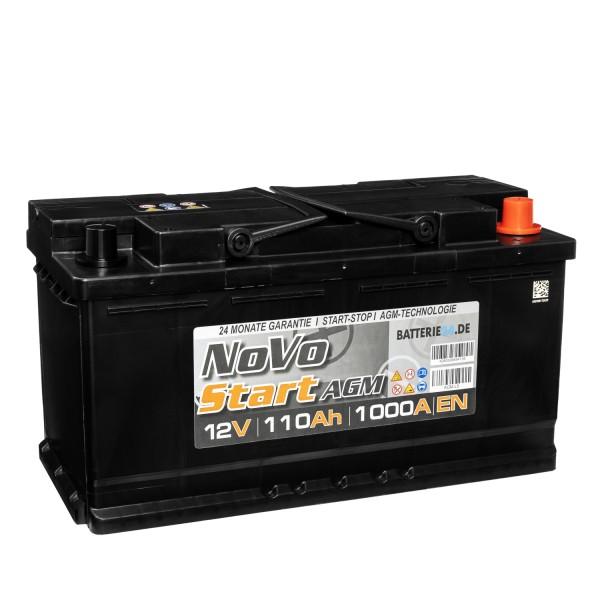 Novo AGM Autobatterie 12V 110Ah