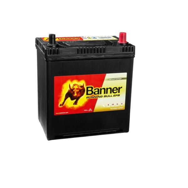 Banner Running Bull Autobatterie EFB 12V 38Ah 53815 ASIA