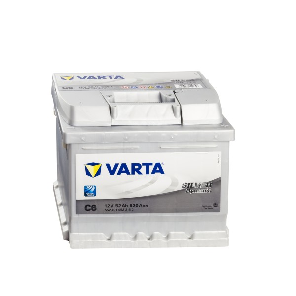 VARTA Silver Dynamic C6 Autobatterie 12V 52Ah