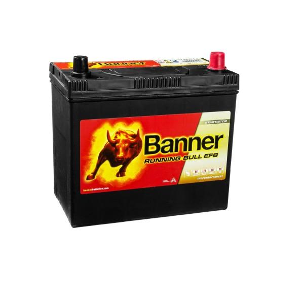 Banner Running Bull Autobatterie EFB 12V 55Ah 55515 ASIA