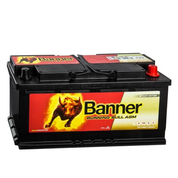 Banner Running Bull Autobatterie 12V 105Ah 60501 AGM
