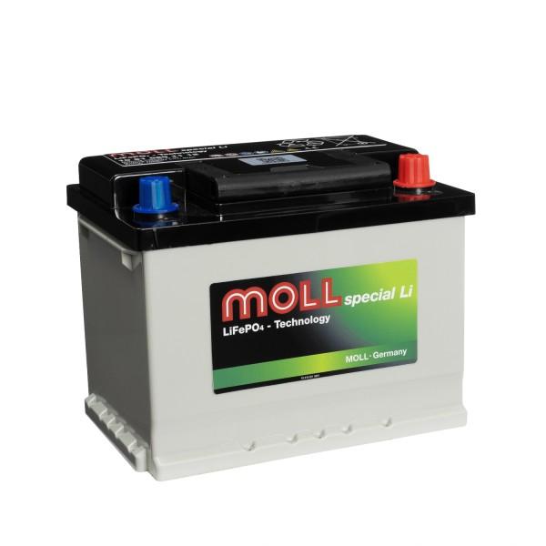 Moll special Li LiFePO4 Lithium 12,8V 60Ah 10 91 060 11 12 Versorgerbatterie