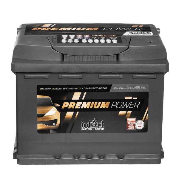 intAct Premium Power PP65MF Autobatterie 12V 65Ah