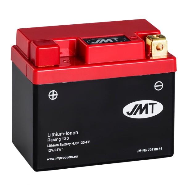 JMT Lithium-Ionen-Motorrad-Batterie HJ01-20-FP 12V