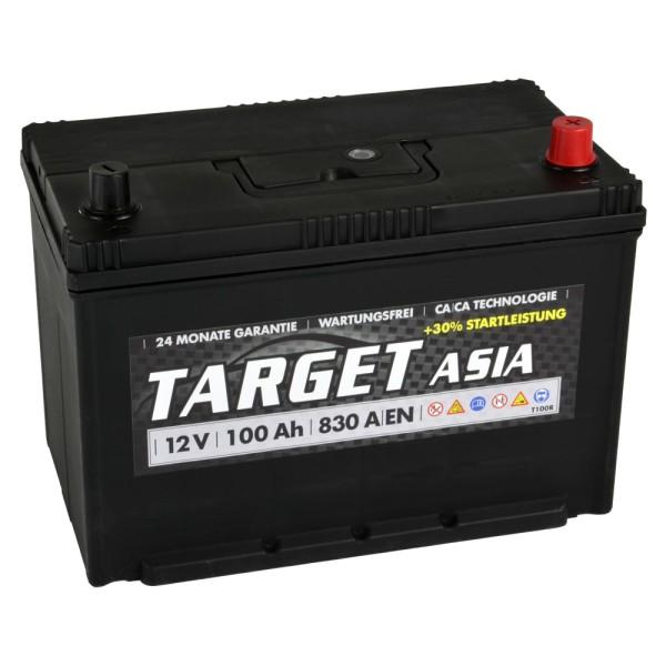 Target ASIA Autobatterie T100R 12V 100Ah