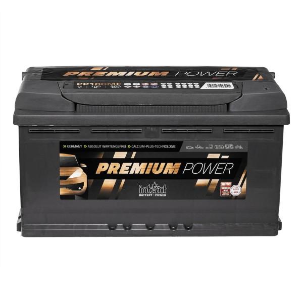 intAct Premium Power PP100MF Autobatterie 12V 100Ah