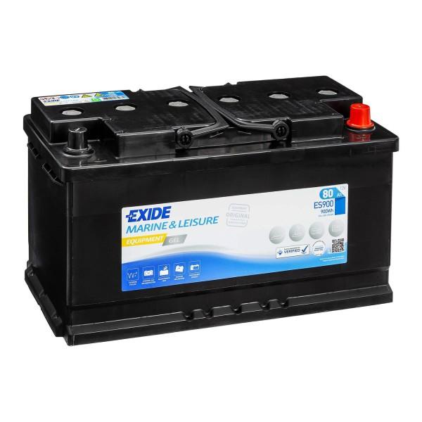Exide Equipment Gel Batterie ES900 (Gel G80) 12V 80Ah