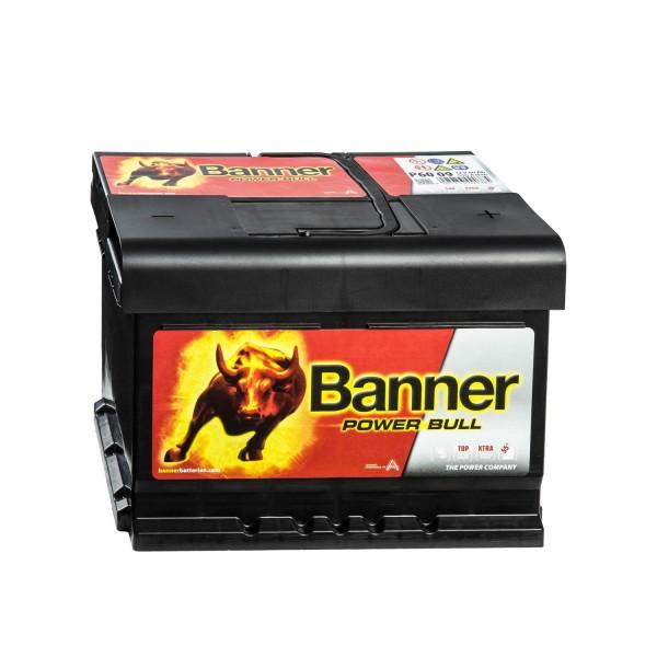 Banner Power Bull P6009 Autobatterie 12V 60Ah