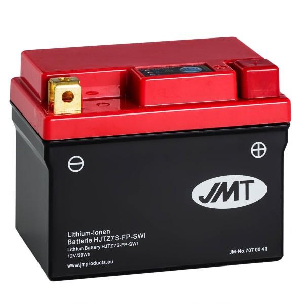 JMT Lithium-Ionen-Motorrad-Batterie HJTZ7S-FP 12V